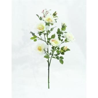 EUROPALMS Rose branch, white, 90cm #2