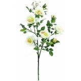 EUROPALMS Rose branch, white, 90cm