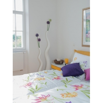 EUROPALMS Allium spray, lavender, 55cm #6