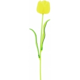 EUROPALMS Crystal tulip, yellow 61cm 12x