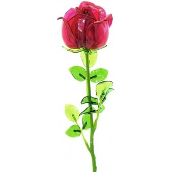 EUROPALMS Crystal rose, burgundy 81cm 12x #2