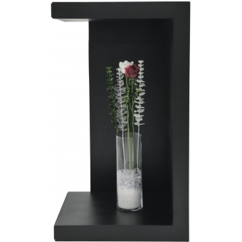 EUROPALMS Crystal rose, burgundy 81cm 12x #3