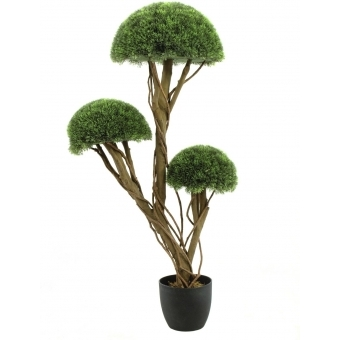 EUROPALMS Grass half ball tree, 126cm