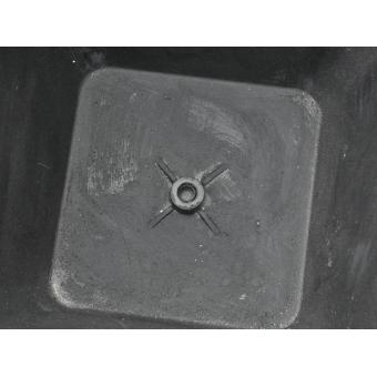 EUROPALMS Deco cachepot STONA-41, cubic, beige #5