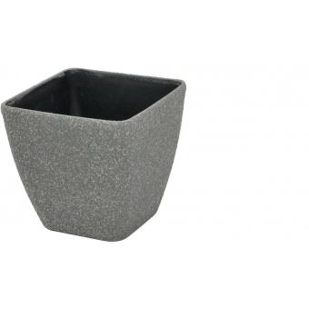 EUROPALMS Deco cachepot STONA-33, rectangular, grey