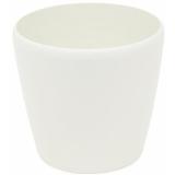EUROPALMS Deco cachepot LUNA-33, round, white