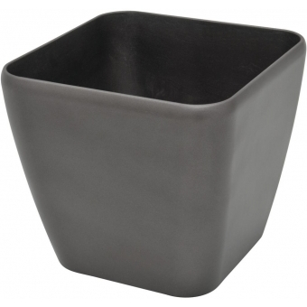 EUROPALMS Deco pot LUNA-33, rectangular,espresso