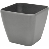 EUROPALMS Deco pot LUNA-33, rectangular, silver