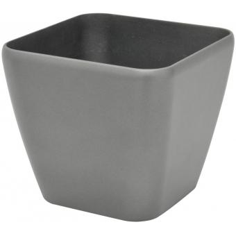 EUROPALMS Deco pot LUNA-26, rectangular, silver