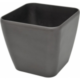 EUROPALMS Deco pot LUNA-20, rectangular,espresso