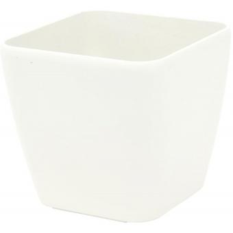 EUROPALMS Deco pot LUNA-20, rectangular, white
