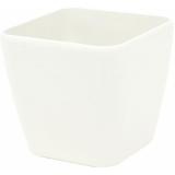 EUROPALMS Deco pot LUNA-20, rectangular, white
