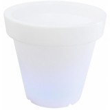 EUROPALMS AKKU LED Flower Pot 66x62cm