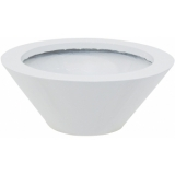 EUROPALMS LEICHTSIN BOWL-15, shiny-white