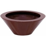 EUROPALMS LEICHTSIN BOWL-15, shiny-red