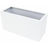 EUROPALMS LEICHTSIN CUBE-50, shiny-white