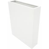 EUROPALMS LEICHTSIN CUBE-100, shiny-white