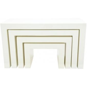 EUROPALMS LEICHTSIN DECO TABLES, white #2