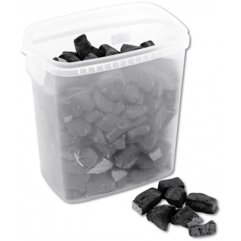 EUROPALMS Deco Foam Stones, black