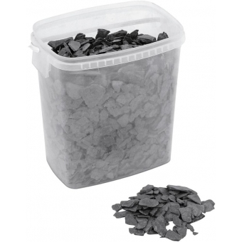 EUROPALMS Slate Chippings, black, 13kg #2
