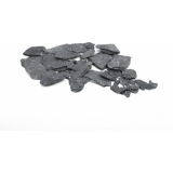 EUROPALMS Slate Chippings, black, 13kg