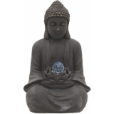EUROPALMS Fountain, BUDDHA WITH MAGIC BALL