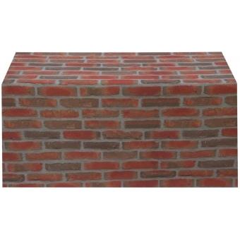 EUROPALMS Deco fabric, brick, 150x100cm #2