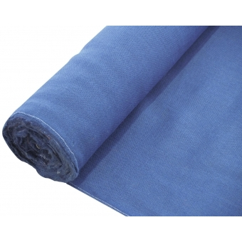 EUROPALMS Deco fabric, blue, 130cm