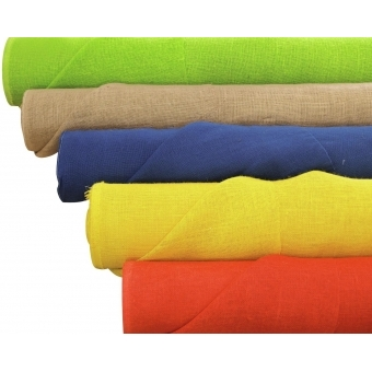 EUROPALMS Deco fabric, blue, 130cm #2