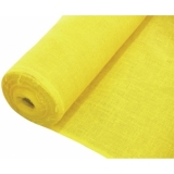 EUROPALMS Deco fabric, yellow, 130cm