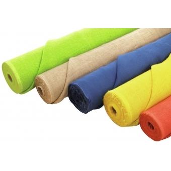 EUROPALMS Deco fabric, apple-green, 130cm #3