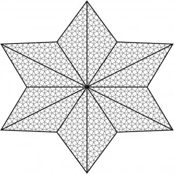 EUROPALMS Deconet, Star, 500cm #3