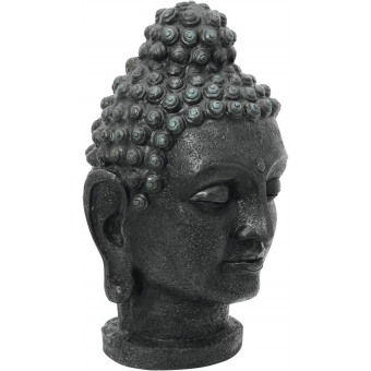 EUROPALMS Head of Buddha, antique-black, 75cm #2
