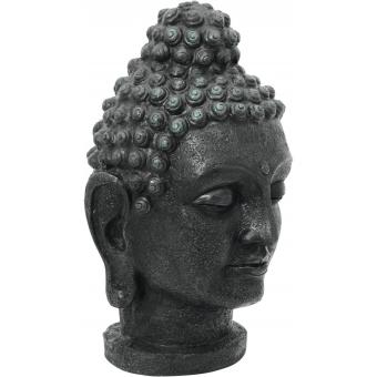 EUROPALMS Head of Buddha, antique-black, 75cm #2