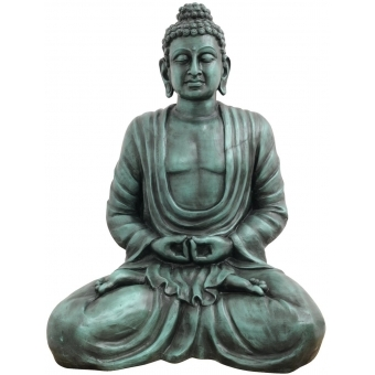 EUROPALMS Buddha, antique-black, 120cm