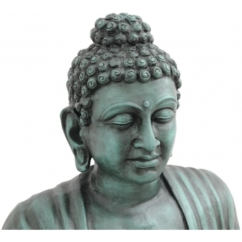 EUROPALMS Buddha, antique-black, 120cm #2