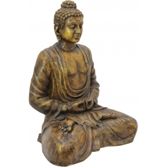 EUROPALMS Buddha, antique-gold, 120cm #2