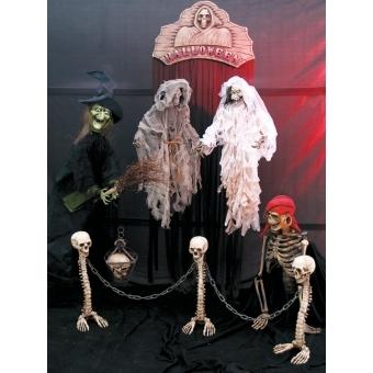 EUROPALMS Skull lantern 39cm #2
