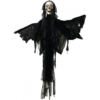 EUROPALMS Halloween figure Angel, animated 165cm #2
