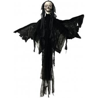 EUROPALMS Halloween figure Angel, animated 165cm #2