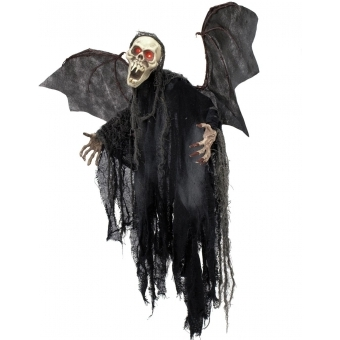 EUROPALMS Halloween figure bat ghost 85cm