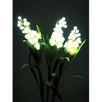 EUROPALMS Arum set, 3 branches with LEDs white 85cm #4