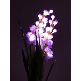EUROPALMS Arum set, 3 branches with LEDs, pink 85cm #5