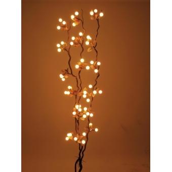 EUROPALMS Heather twig, with LEDs, 180cm #5