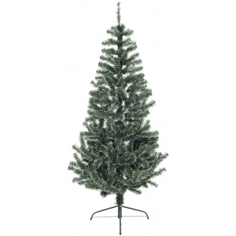 EUROPALMS Premium Fir tree, green-white, 180cm