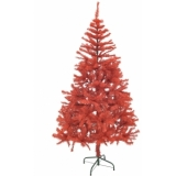 EUROPALMS Fir tree, red, 240cm