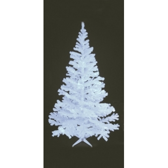 EUROPALMS Fir tree, UV-white, 210cm