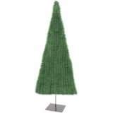 EUROPALMS Fir tree, flat, light green, 150cm