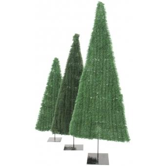 EUROPALMS Fir tree, flat, dark-green, 120cm #3