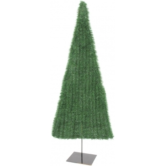 EUROPALMS Fir tree, flat, green, 150cm